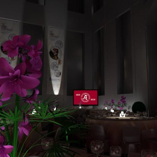Casa de la Moneda, Vista Interior Flores